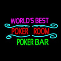 Best Poker Room Liquor Bar Beer Neon Sign
