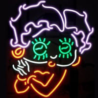 Betty Boop Neon Sign