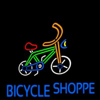 Bicycle Shoppe Neon Sign