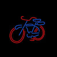 Bike Logo Neon Sign
