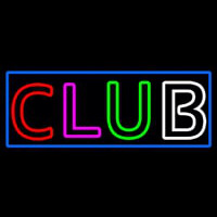 Block Club Neon Sign