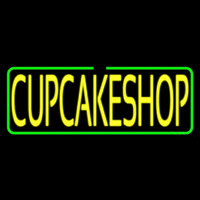 Block Cupcake Shop Neon Sign