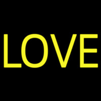 Block Love Neon Sign