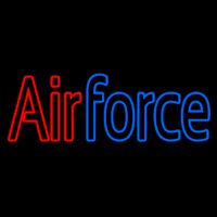 Blue Air Force Neon Sign