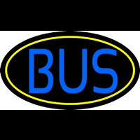 Blue Bus Neon Sign