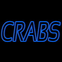 Blue Crabs Neon Sign