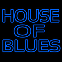 Blue House Of Blues Neon Sign