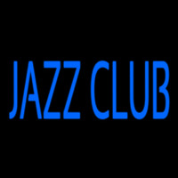 Blue Jazz Club Block 2 Neon Sign