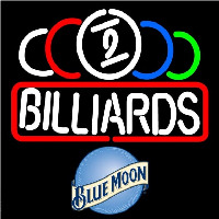 Blue Moon Ball Billiard Te t Pool Beer Sign Neon Sign