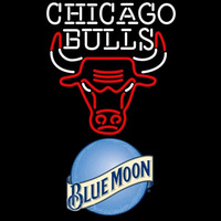 Blue Moon Chicago Bulls NBA Beer Sign Neon Sign