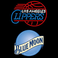 Blue Moon Los Angeles Clippers NBA Beer Sign Neon Sign