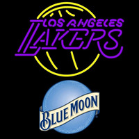 Blue Moon Los Angeles Lakers NBA Beer Sign Neon Sign