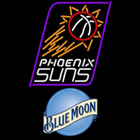Blue Moon Phoenix Suns NBA Beer Sign Neon Sign