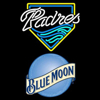 Blue Moon San Diego Padres MLB Beer Sign Neon Sign