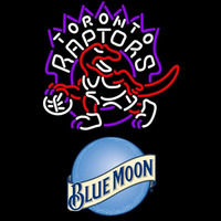 Blue Moon Toronto Raptors NBA Beer Sign Neon Sign