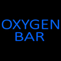 Blue O ygen Bar Neon Sign