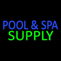 Blue Pool And Spa Green Supply Neon Sign