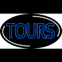 Blue Tours Neon Sign