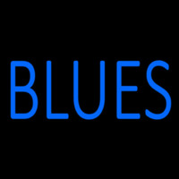 Blues Block Neon Sign