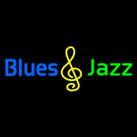 Blues Jazz Neon Sign