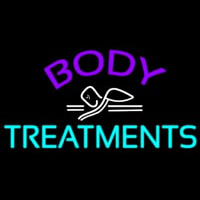 Body Treatments Neon Sign
