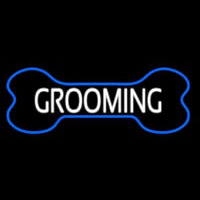 Bone Grooming Neon Sign