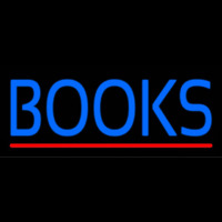 Books Neon Sign