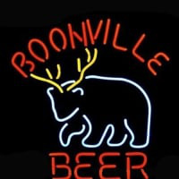 Boonville Deer Logo Pub Store Neon Sign