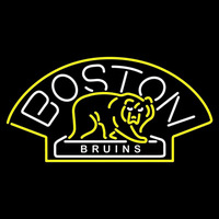 Boston Bruins Alternate 2007 08 Pres Logo NHL Neon Sign Neon Sign