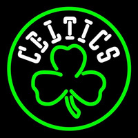 Boston Celtics Alternate Logo Neon Sign Neon Sign