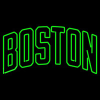 Boston Celtics Wordmark 2005 06 Pres Logo NBA Neon Sign Neon Sign
