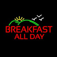 Breakfast All Day Neon Sign