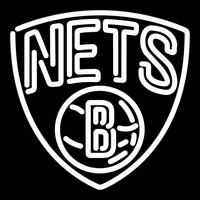 Brooklyn Nets Partial 2012 13 Pres Logo NBA 1 Neon Sign Neon Sign