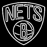 Brooklyn Nets Partial 2012 13 Pres Logo NBA Neon Sign Neon Sign