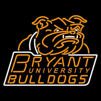 Bryant Bulldogs Primary 2005 Pres Logo NCAA Neon Sign Neon Sign