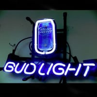 Bud Can Budweiser Neon Sign
