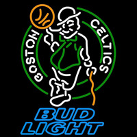 Bud Light Boston Celtics NBA Beer Sign Neon Sign