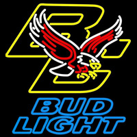 Bud Light Boston College Golden Eagles Beer Sign Neon Sign