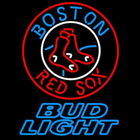 Bud Light Boston Red Sox MLB Beer Sign Neon Sign