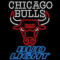 Bud Light Chicago Bulls NBA Beer Sign Neon Sign