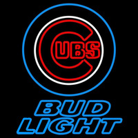 Bud Light Chicago Cubs MLB Beer Sign Neon Sign