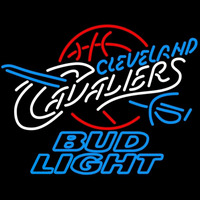 Bud Light Cleveland Cavaliers NBA Beer Sign Neon Sign