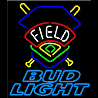 Bud Light Field Colorado Rockies Beer Sign Neon Sign