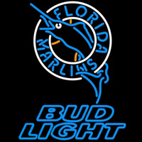 Bud Light Florida Marlins MLB Beer Sign Neon Sign