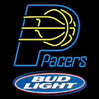 Bud Light Indiana Pacers NBA Beer Sign Neon Sign