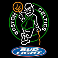 Bud Light Logo Boston Celtics NBA Beer Sign Neon Sign