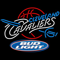Bud Light Logo Cleveland Cavaliers NBA Beer Sign Neon Sign