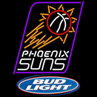 Bud Light Logo Phoenix Suns NBA Beer Sign Neon Sign