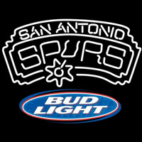 Bud Light Logo San Antonio Spurs NBA Beer Sign Neon Sign