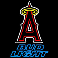 Bud Light Los Angeles Angels of Anaheim MLB Beer Sign Neon Sign